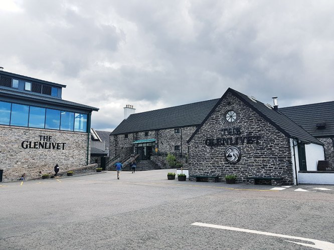 Glenlivet visitor's centre: insights into the whisky making process