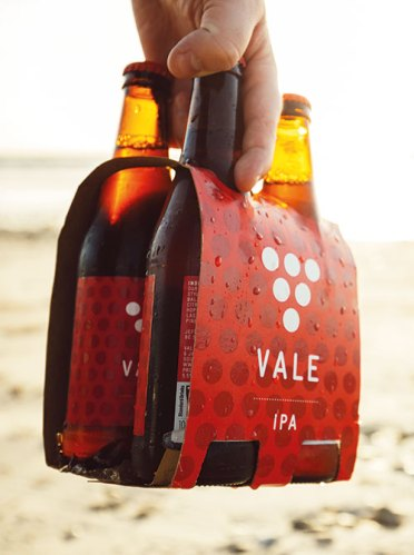 Vale beer is an ubiquitious sight in Adelaide