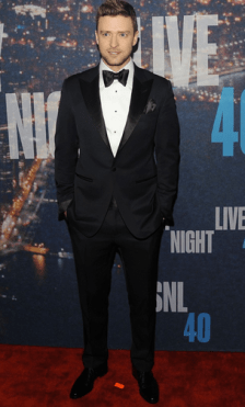 Justin Timberlake: For bringing sexy back.