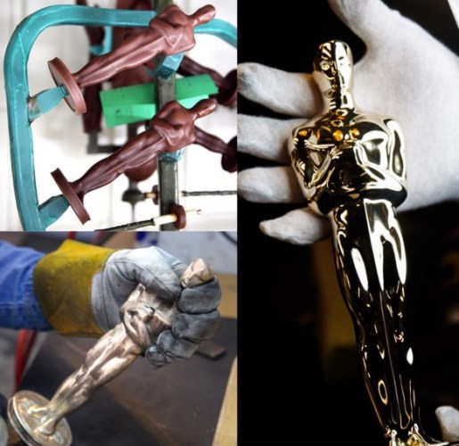 Here's how the Oscars statuette was made