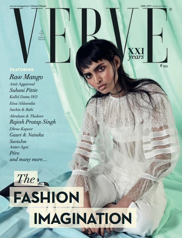 Verve Cover April 2017 The Fashion Imagination