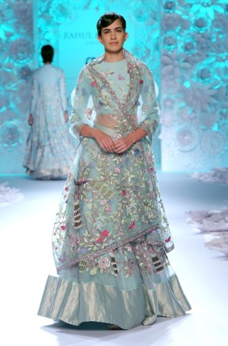 The peacock lehenga