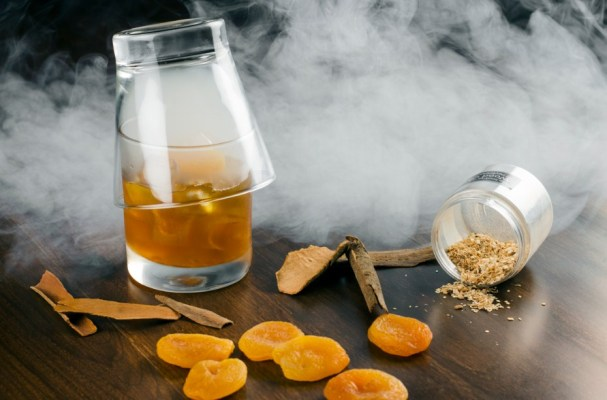 Smoked Scotch and Apricot Old Fashioned