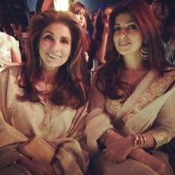 Dimple Kapadia, Twinkle Khanna
