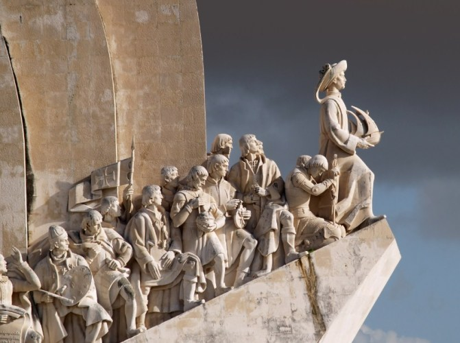 Sculpture on the Discoveries Age and Portuguese navigators