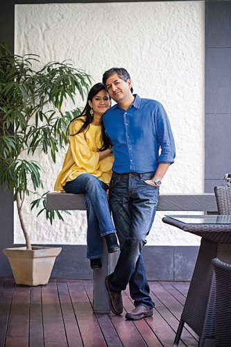 Seema and Vikram Chandra:  a life filled with shared passions