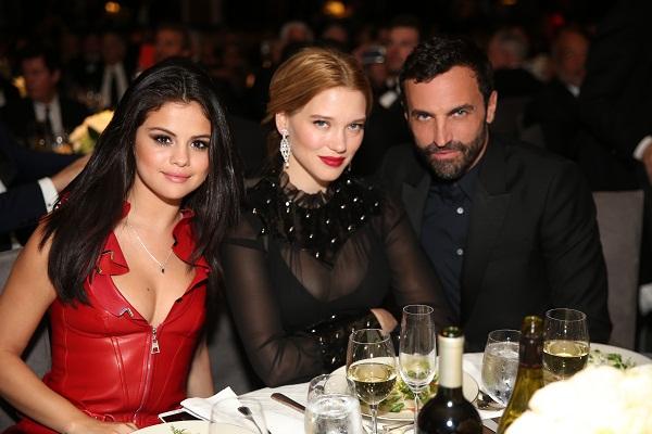 Selena Gomez, Lea Seydoux, Nicolas Ghesquiere