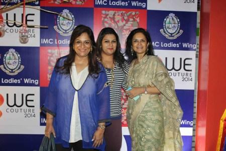 Shaan Khanna, Sharmila Khanna, Malini Agarwal