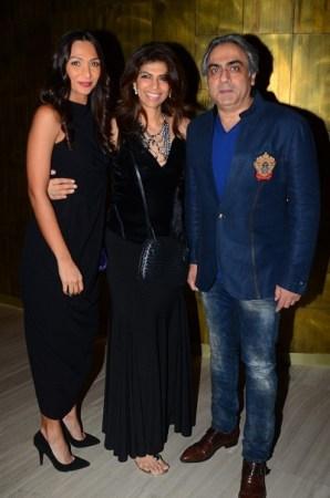 Shamita Singha, Zeba and Rajesh Kohli