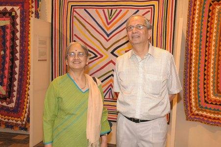 Shanta and Sudhir Patwardhan