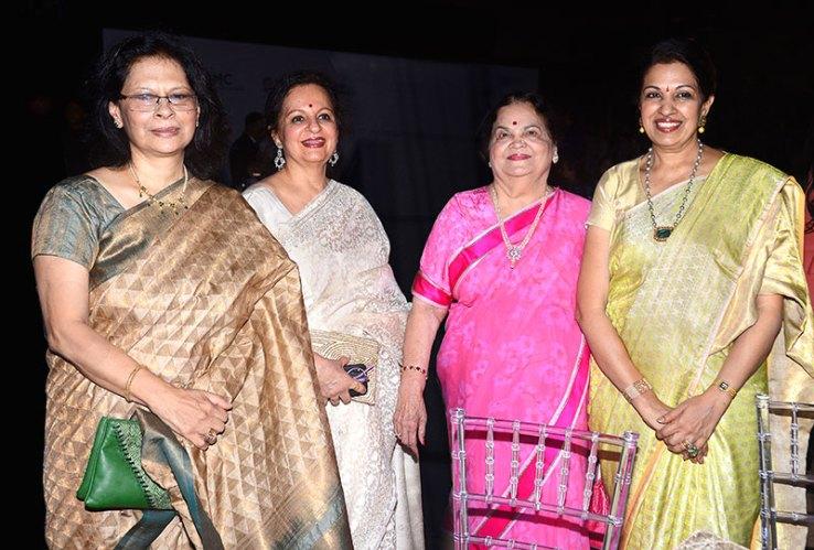 Sheila Kriplani, Bharti Gandhi, Kokilaben Ambani, Nayantara Jain