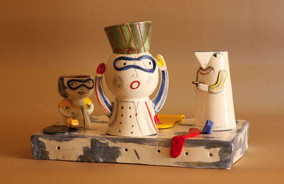 Ceramic artists, Ceramics, Featured, Have Fun Pottery, Indian Ceramics Triennale, Irregular Beauty, Jaipur, Kate Malone, Online Exclusive, Rahul's Clay Studio, Ramesh Nithiyendran, Saraswati, Satoru Hoshino, Shirley Bhatnagar