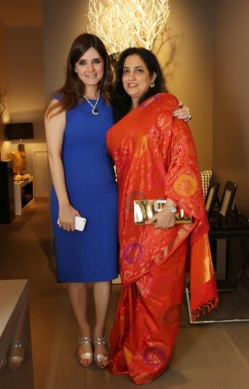 Simone Arora with Rashmi Thackarey