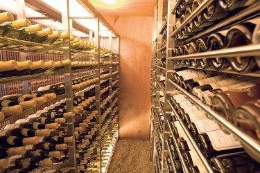 Les Amis wine cellar