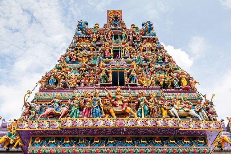 Sri Veeramakaliamman Temple, one of Singapore's oldest Hindu temples