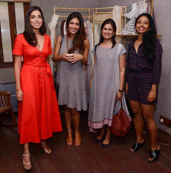 Smita Khanna and friends