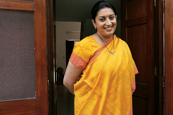 Smriti Z Irani, Union Minister for Human Resource Development, TV Actress, Tulsi Virani, Kyunki...Saas Bhi Kabhi Bahu Thi