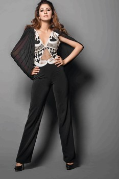 Sonaakshi Raaj in her own design