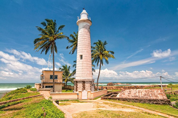 Dondra Head lighthouse at Galle Fort
