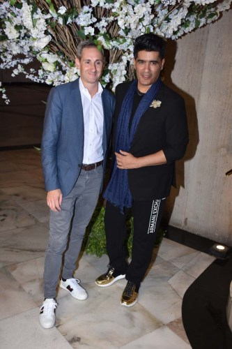 Stephane de Meurville and Manish Malhotra