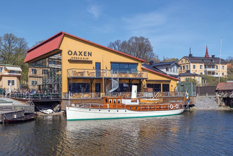 Restaurant Oaxen in Djurgårdsvarvet