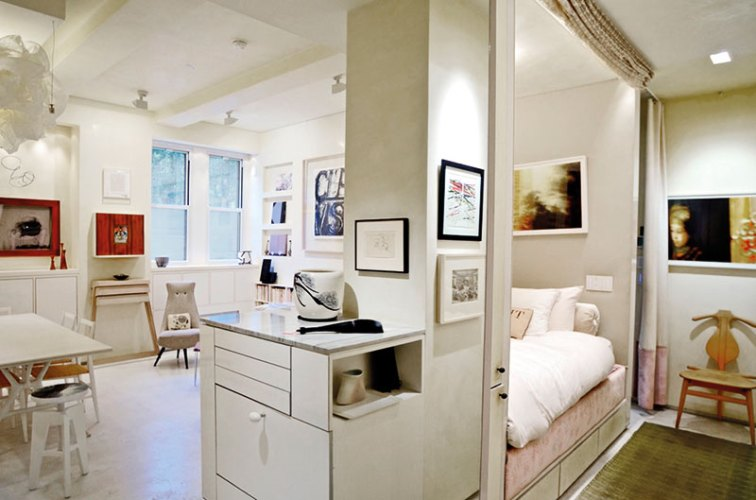 The architect's 375-square-foot microapartment in New York City