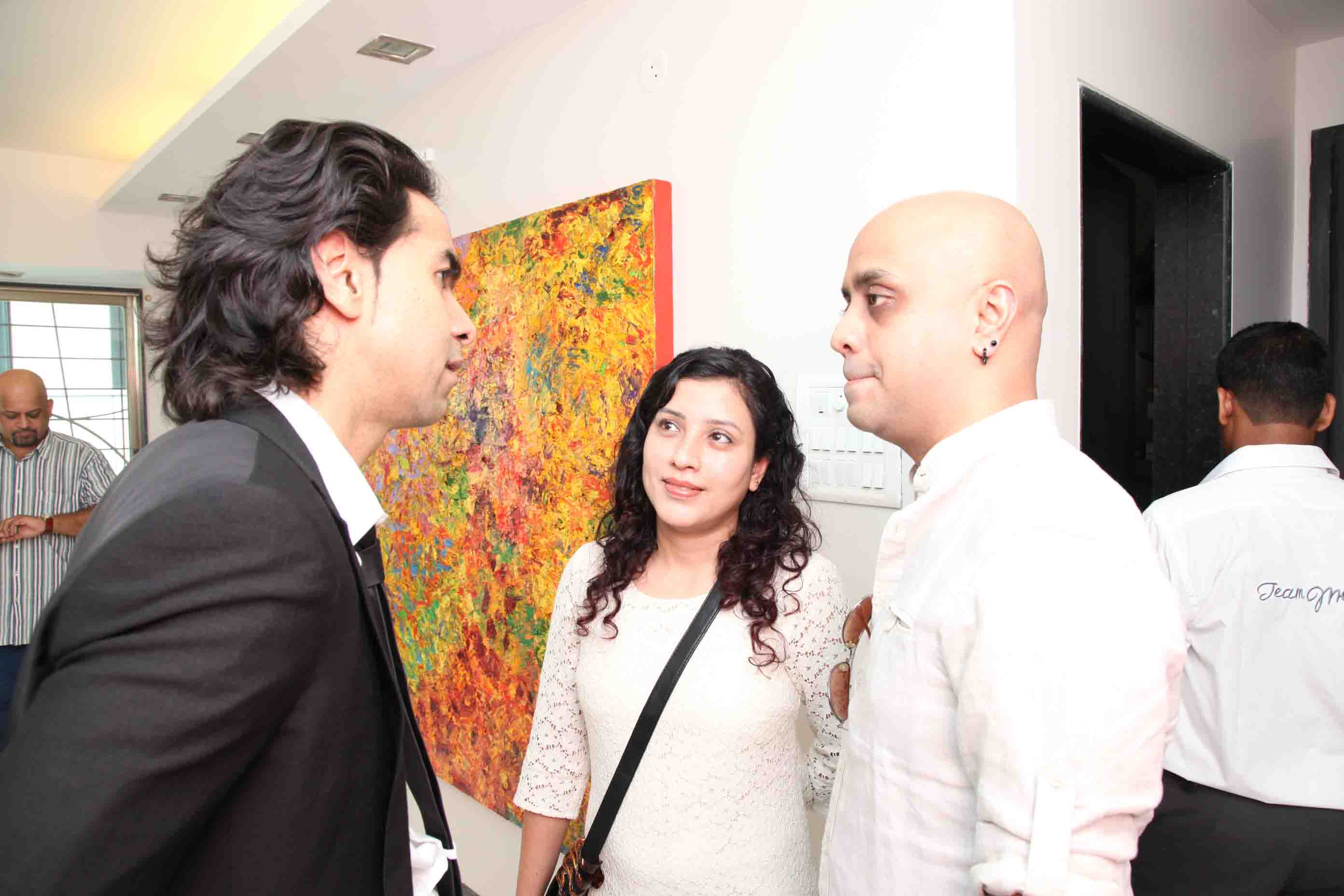 Suhail Shah, Joi and Nayana Barua, Sharmistha Ray, Bellevue Brunches, Sharmistha Ray