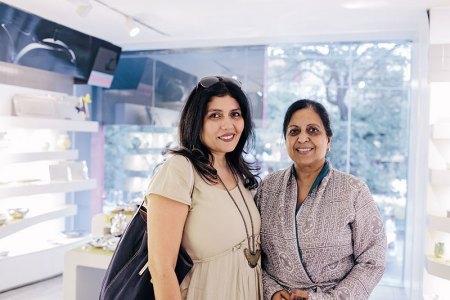Sumiko Murgai Nanda, Neeta Raheja