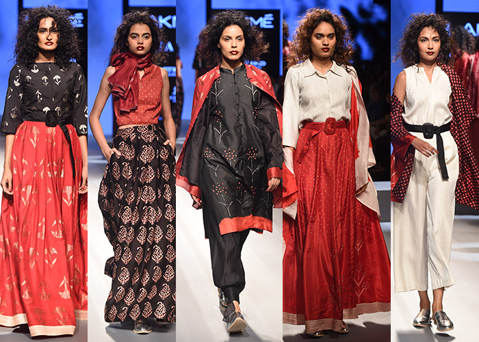 Sunita Shanker's Lakme Fashion Week Winter/Festive 2017 collection