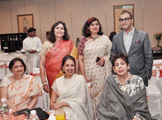 Clockwise from bottom left: Surbhi Ghatlia, Verve's Arti Sarin and Pallavi Kanchan, Asad Lalljee, Jamini Ahluwalia, Nayantara Jain