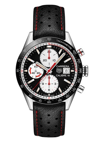 Carrera Calibre 16 chronograph, TAG Heuer
