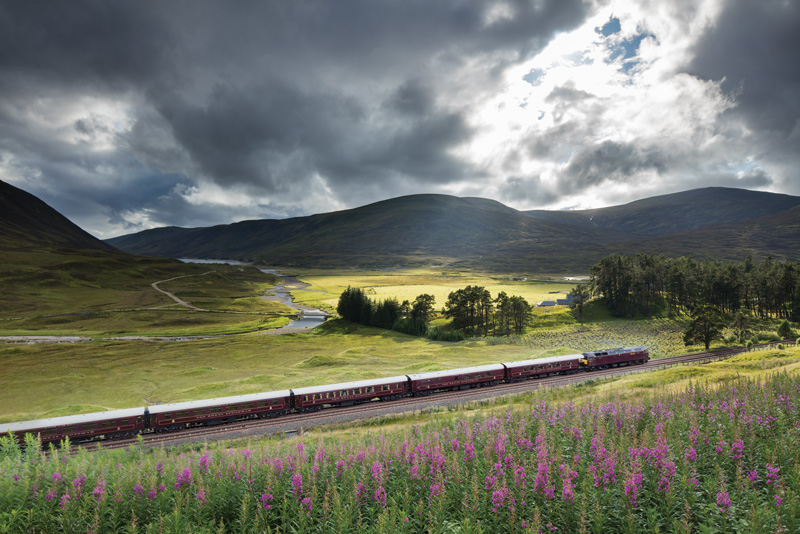 The Royal Scotsman, railway journeys, travel, Great Britain, Scotland