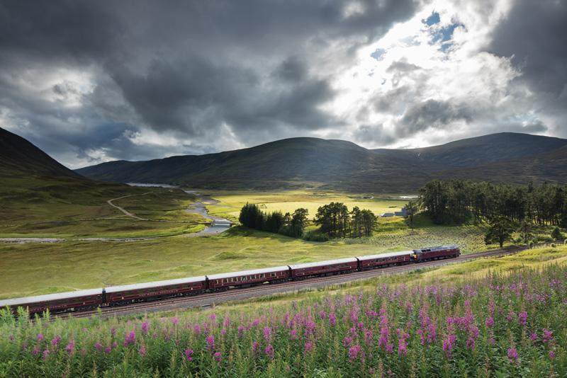 The Royal Scotsman, railway journeys, travel, Great Britain, Scotland