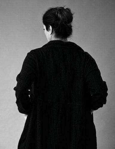 Wool coat, from Eka.