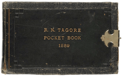 Tagore's notebook