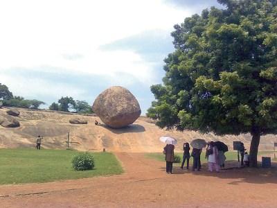 Mahabalipuram: Krishna's 'butter ball'