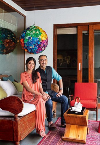 Tania and Sandeep Khosla: individual sensibilities