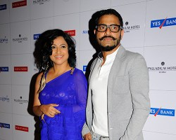 Tanuja and Sunil Padwal