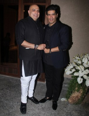 Tarun Tahiliani and Manish Malhotra