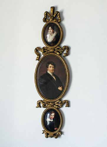 Set of antique portraits, from Amsterdam