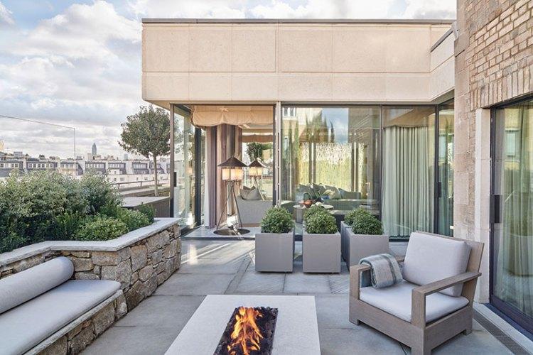The grand Pavillion suite at the Berkeley