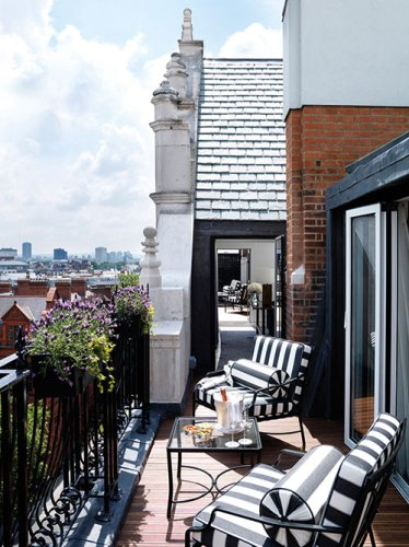 The Connaught apartment terraces