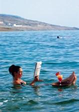 Dead Sea soak: staying buoyant