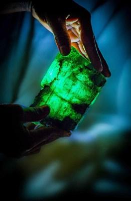 The Inkalamu Lion emerald