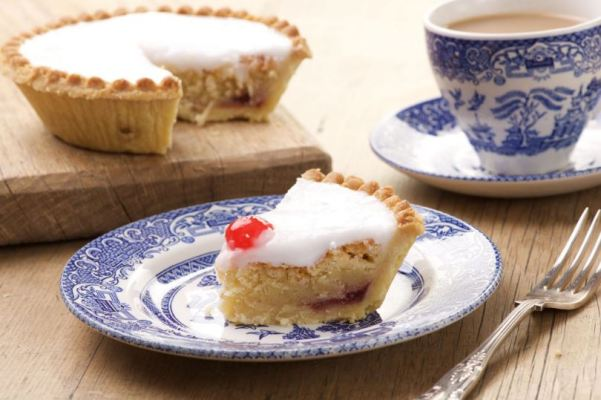 The original iced Bakewell tart