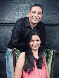Jay Yousuf and Gauri Devidayal
