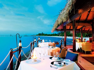 A meal with a view at The Deep End
