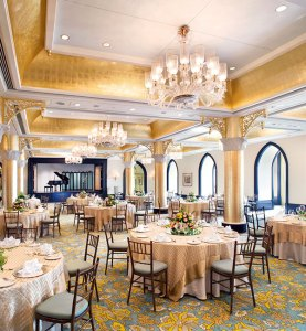 The Ballroom: elegance blends with grandeur