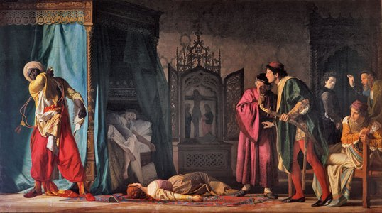 The death of Othello by Molmenti