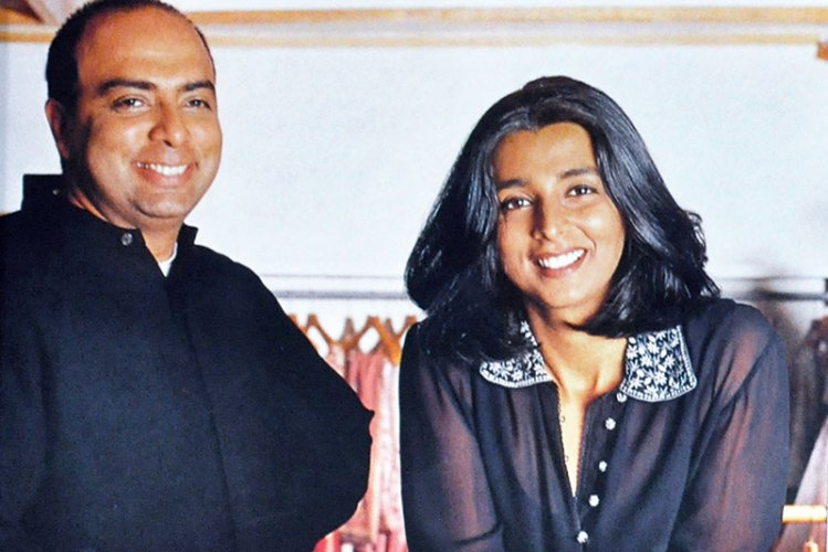 Tarun Tahiliani and Tina Tahiliani Parikh; Verve, 2000